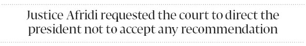 Sidelined?: Former IHC judge challenges non-extension